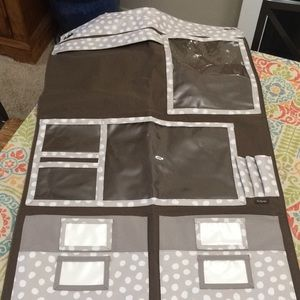 Thirty-one hang up home organizer lotsa dots print